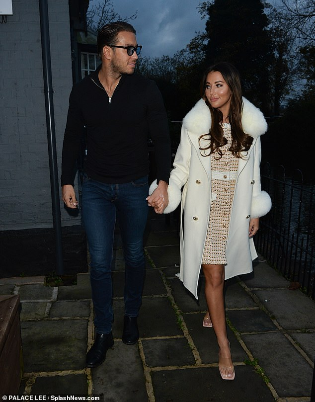 Back on!Yazmin and James split last year after two years together over claims he had cheated on her while they were on a romantic holiday together in Turkey, something he denied
