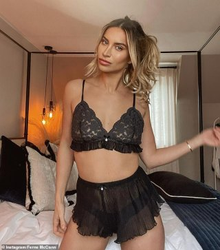 Ferne McCann sizzles in SHEER lingerie amid claims her brand 'makes £2K a YEAR'