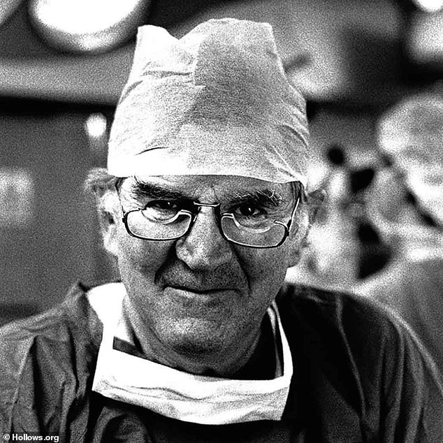 Hero:He also listed Professor Fred Hollows (pictured)an ophthalmologist who became famous for restoring eyesight for thousands of people around the world. He died in 1993