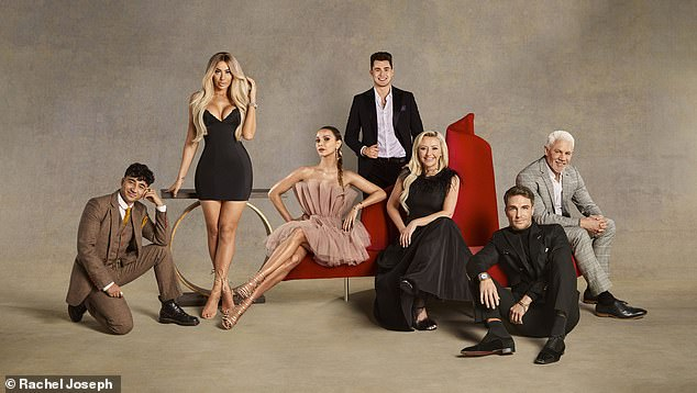 Celebs:Other stars joining the show include Made In Chelsea's Sophie Hermann, 33, Love Island's Curtis Pritchard, 24 and Ibiza nightclub owner Wayne Lineker