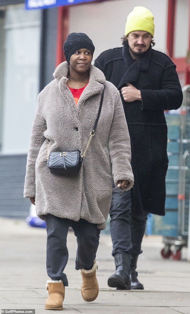 Strictly judge Motsi Mabuse makes a rare outing with her husband Evgenij Voznyuk