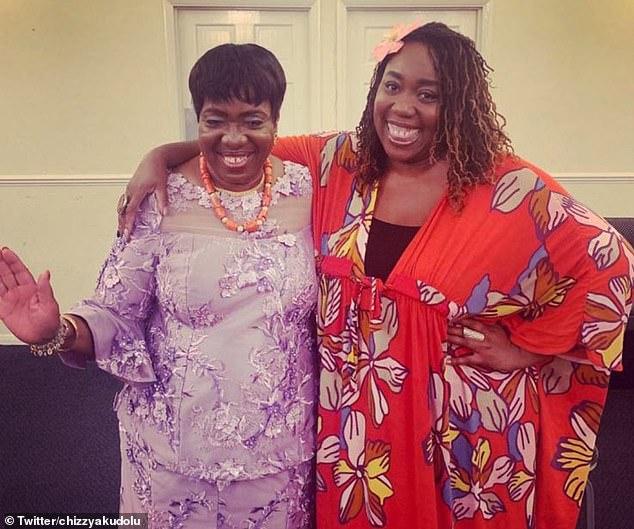 Hearbreaking: Chizzy Akudolu revealed her 'wonderful' mom Maria has passed away