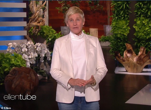 Liar: Ellen and Portia have kept a low profile in recent months, following allegations by employees that the talk show host promoted a toxic workplace for years
