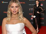 2020 AACTA Awards: Fifty Shade Of Grey star Bella Heathcote stuns elegant see-through black gown
