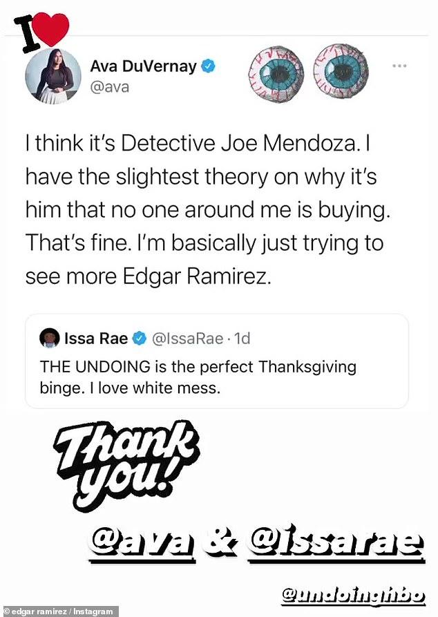 Stabbing: Director Eva Ava DuVernay Believes It Was Detective Mendoza's Ramirez Character Who Killed Elena Alves In The Undoing