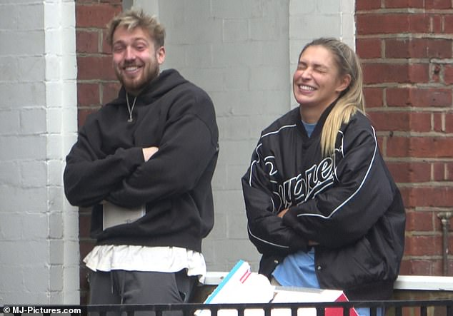 PIC EXC: Zara McDermott and Sam Thompson pictured together for the first time since reuniting