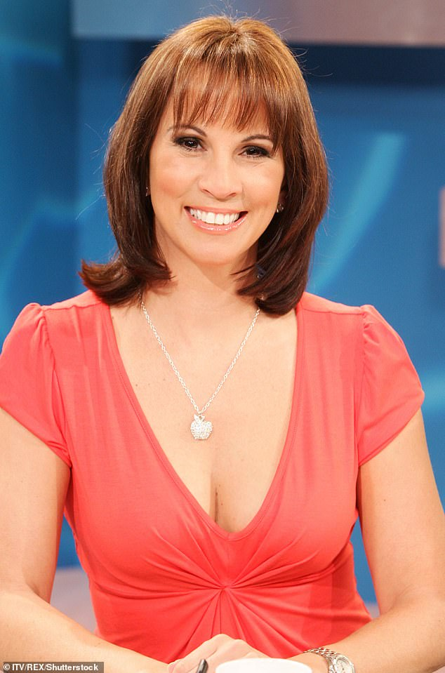 Throwback: Andrea first appeared on the popular programme in 2007 (pictured 2008)