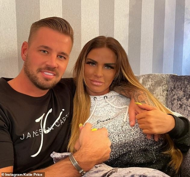 Going strong: The TV personality, 42, recently celebrated her six-month birthday with Carl and revealed she spent every day of their relationship together