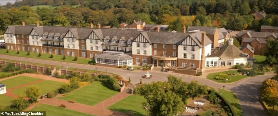 Who needs Versace?  Inside the upscale Carden Park Hotel in Cheshire where I'm A Celebrity stars stay after being knocked out from the Welsh camp at Gwrych Castle, an hour's drive away