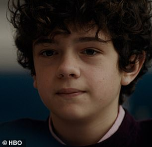 New twist! Episode six kicks off where five left off, as Grace and Henry (Noah Jupe - pictured) stare at each other intently as they realize the gravity of what she has discovered