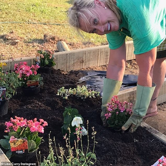 Moving tribute:Last week, a grieving Lisa came up with a touching way to remember her late daughter, Jaimi Lee.In a post on Instagram, the former Olympic swimmer revealed she had planted four garden beds so there'd be flowers all year round