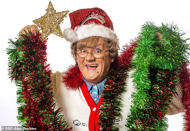 The evening's festivities ended with a Mrs Browns Boys Christmas Special which aired at 10.05pm
