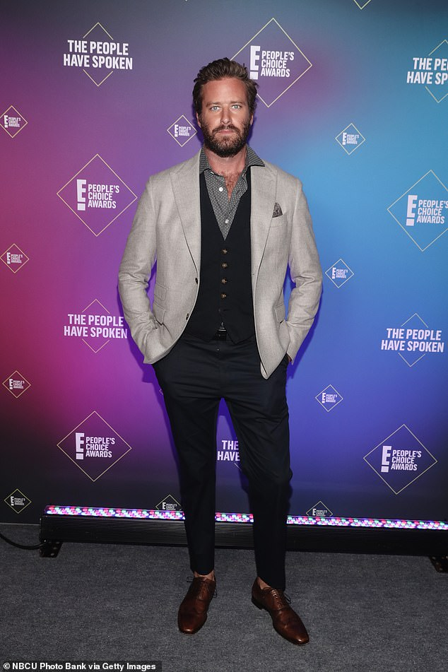 The latest: Armie Hammer's name was all the rage on social media Sunday as a series of graphic DMs on Instagram that he allegedly wrote to a woman was leaked publicly, speaking of cannibalism and other topics.  He was pictured in Los Angeles in November