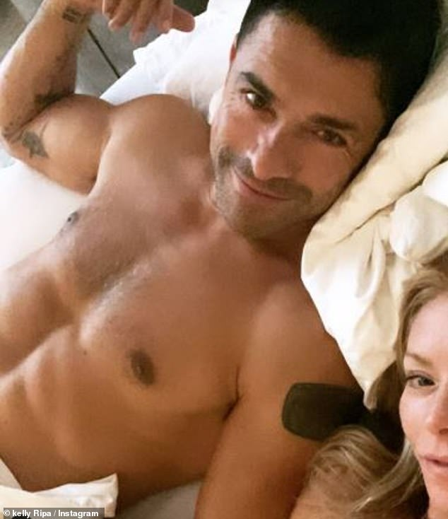 Couple: Consuelos and Ripa met in 1995 when they were both starring on the long-running soap opera All My Children