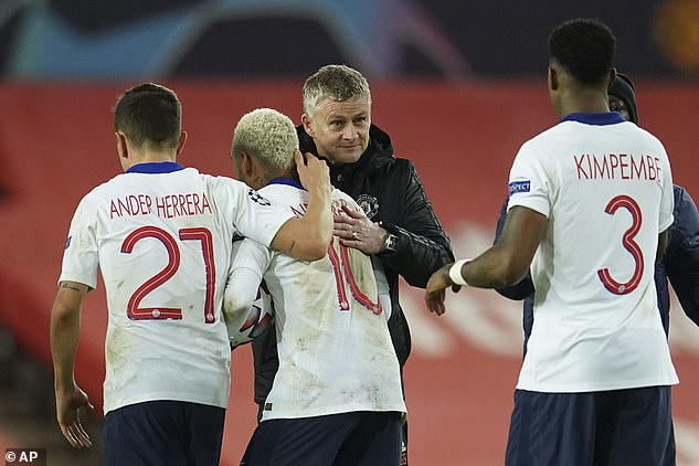 Manchester United manager Ole Gunnar Solskjaer refused to criticise the PSGtheatrics