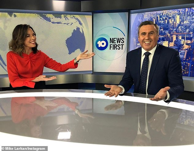 New gig: Mike will soon be back on screens as a community reporter in the Melbourne bureau, hosting a program called Mike's Melbourne