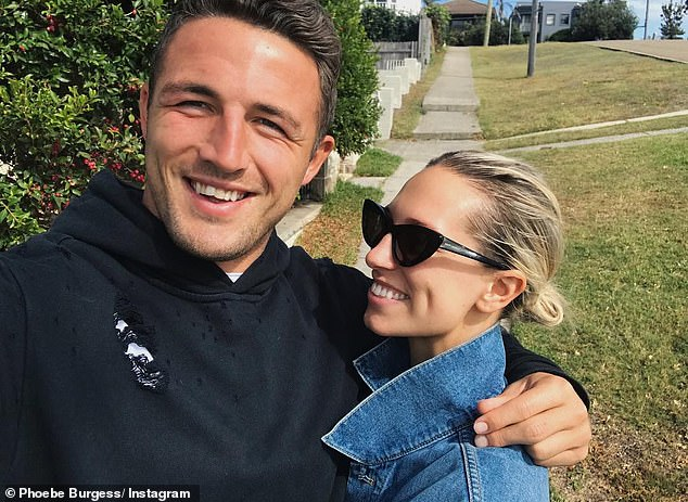 Over:Sam shares custody of his son and daughter Poppy - who turns four in January - with his ex-wife Phoebe.Sam and Phoebe finalised their divorce in April this year