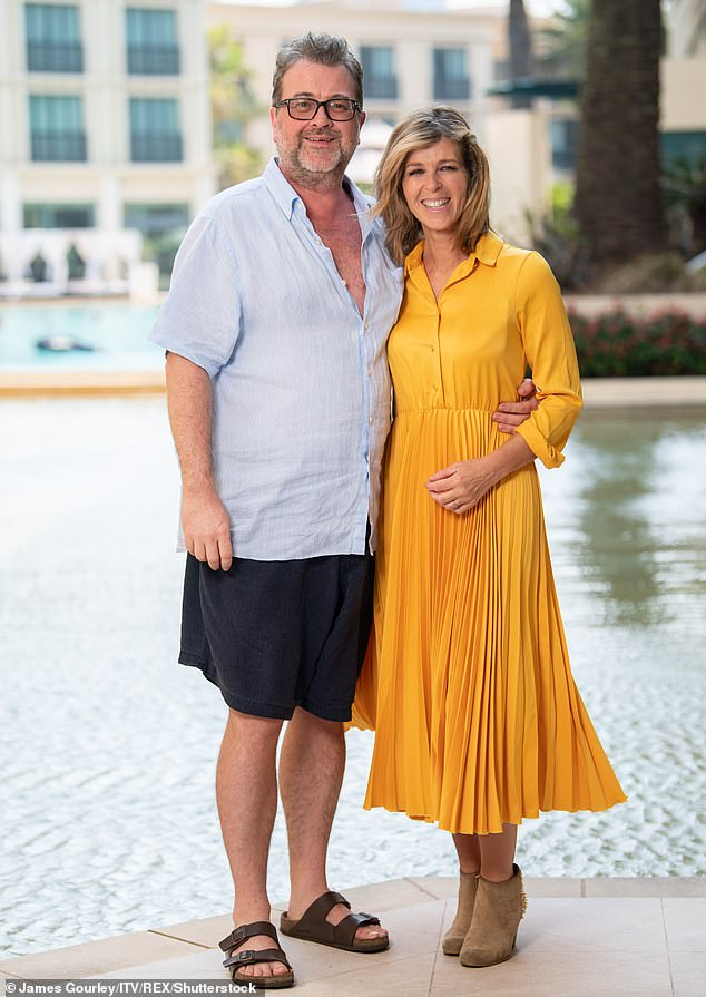 Marriage: The Good Morning Britain presenter, 53, said the songwriter has been so 'personally kind' to her during Derek's battle with the disease, after he offered to help the couple when her husband was first admitted to intensive care in March