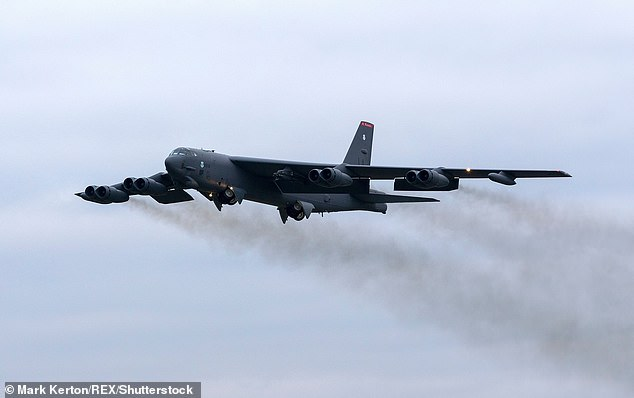 US Air Force B52 bomber 'burns fuel above Worcester as it prepares for emergency landing'