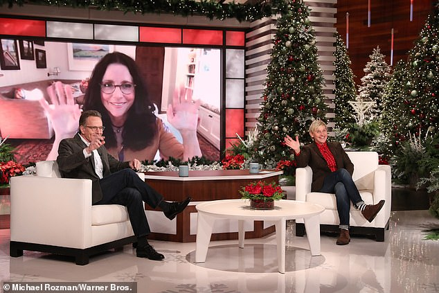 The struggle: He spoke on Ellen about the battle