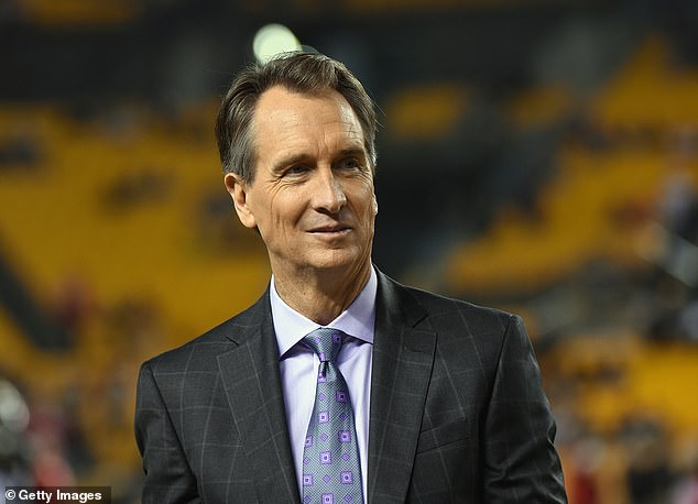 Cris Collinsworth is facing backlash for sexist comments he made on-air Wednesday afternoon