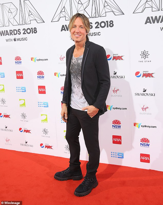 Look forward:Keith will kick things off at the Newcastle Entertainment Centre on December 1, 2021, before heading to Sydney's Qudos Bank Arena on December 3 and 4