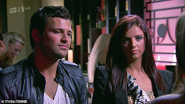 Way back when:Any TOWIE fan worth their salt, will recall the Lucy-Mario-Mark conundrum