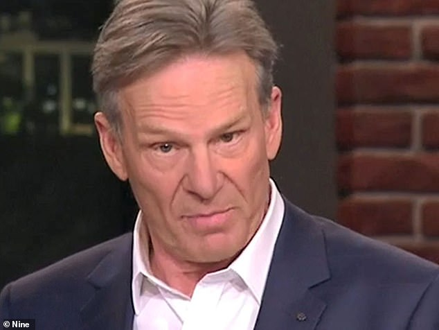Controversial Footy Show host Sam Newman (pictured) has been banned from Twitter after attacking a fan with a profane comment. The 74-year-old told the Herald Sun on Saturday that he 'could not give a stuff' about his account being suspended for six days