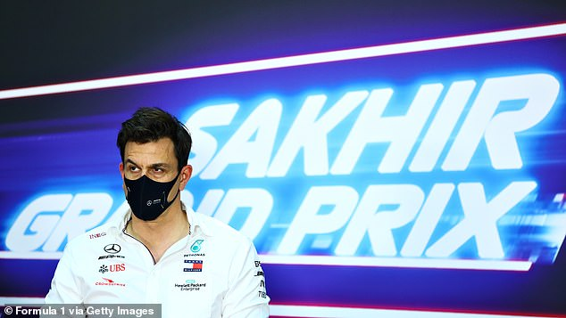 Mercedes boss Toto Wolff said the driver was recovering but was suffering from mild symptoms