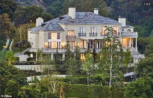 The billionaire originally listed two Bel Air properties on Zillow.  This property was listed for $ 30 million.  It was bought by Musk in 2012 for $ 17 million