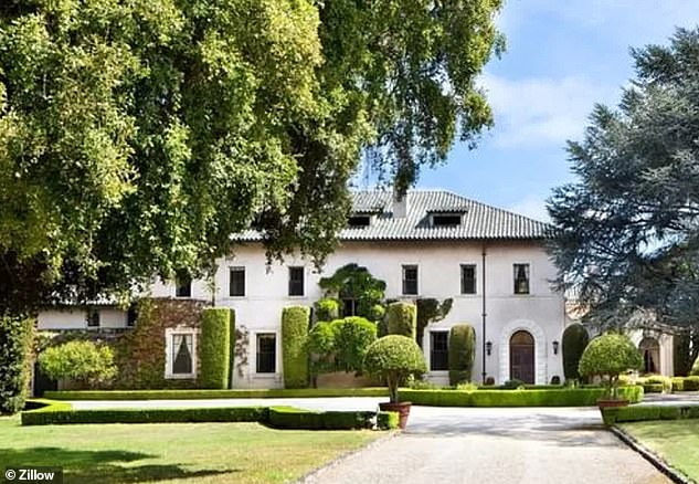 The fifth house, located in Hillsborough, Calif., Was listed for $ 35 million.  Musk bought the Hillsborough home in June 2017 for $ 23.3 million.  The 16,000 square foot mansion sits on 47.4 acres of land and includes 10 bedrooms and 10 bathrooms