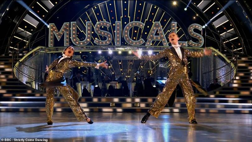 High praise: Judge Motsi Mabuse said their performance was 'the dance of the season, the dance of the decade!'