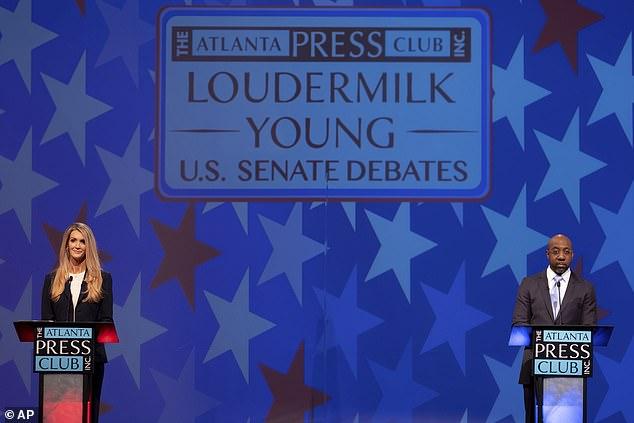 Kelly Loeffler repeatedly dubs Democrat challenger a 'radical liberal' during runoff debate