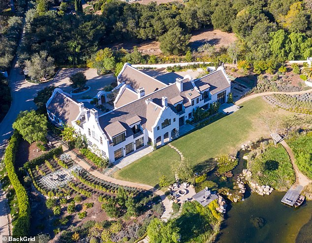 The private deal makes the compound one of the priciest ever sold in the Santa Barbara County area, The Wall Street Journal reported.
