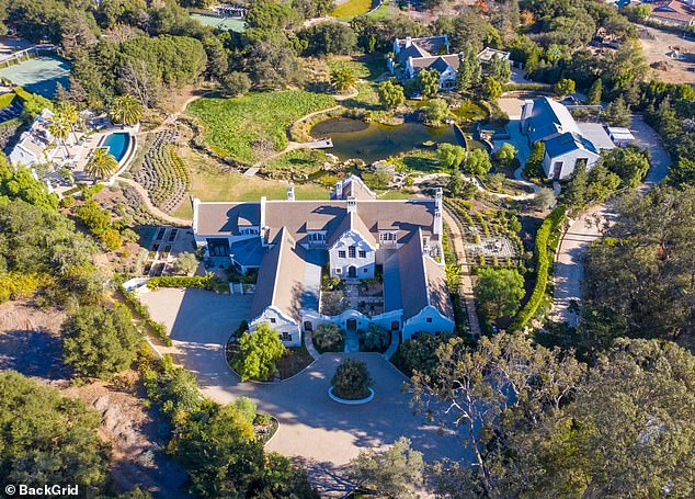 Ellen DeGeneres and Portia de Rossi could soon be neighbors with Meghan Markle, Prince Harry and baby Archie, after reportedly snapping up a $49million estate in Montecito, California.