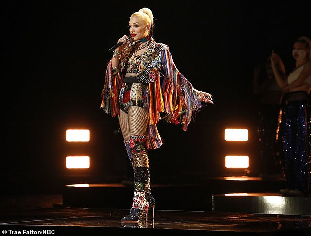New song:Gwen Stefani delivered a live debut of her new single Let Me Reintroduce Myself on Monday as the nine semifinalists also performed on the NBC singing competition show