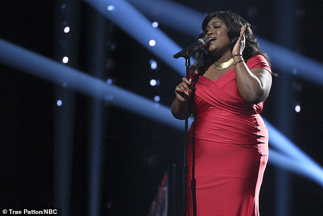 Strong case:John's singer Tamara Jade made a strong case for a spot in the finals with a strong version of Let It Be