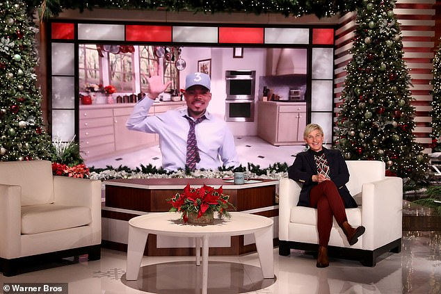 Chance The Rapper says Justin Bieber is one of his 'best friends' on The Ellen DeGeneres show
