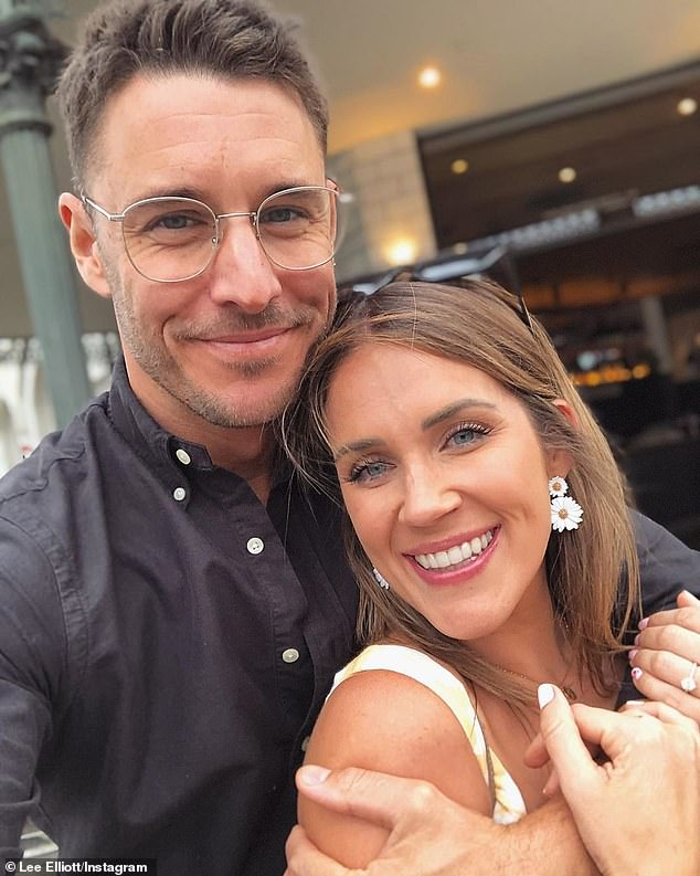 Low hit rate: Of the seven Bachelorette couples, only Georgia Love (right) and Lee Elliott's (left) romance remains intact