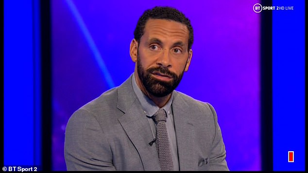 Ferdinand joked he didn't get any sleep due to United's exit but backed Bayern to win the trophy