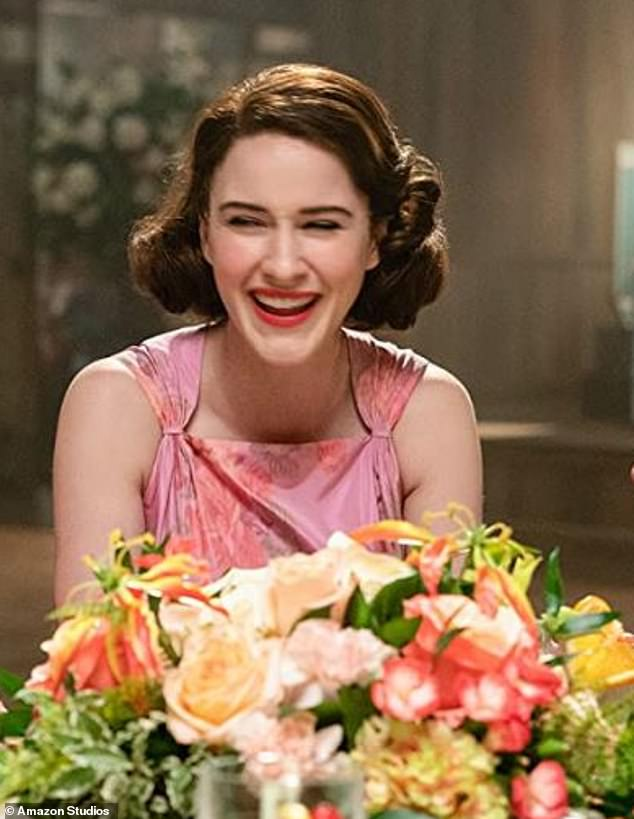 Instant hit: Mrs. Maisel is a late 1950s New York housewife who leaves her husband, moves back in with her parents along with her two children and pursues a career in comedy