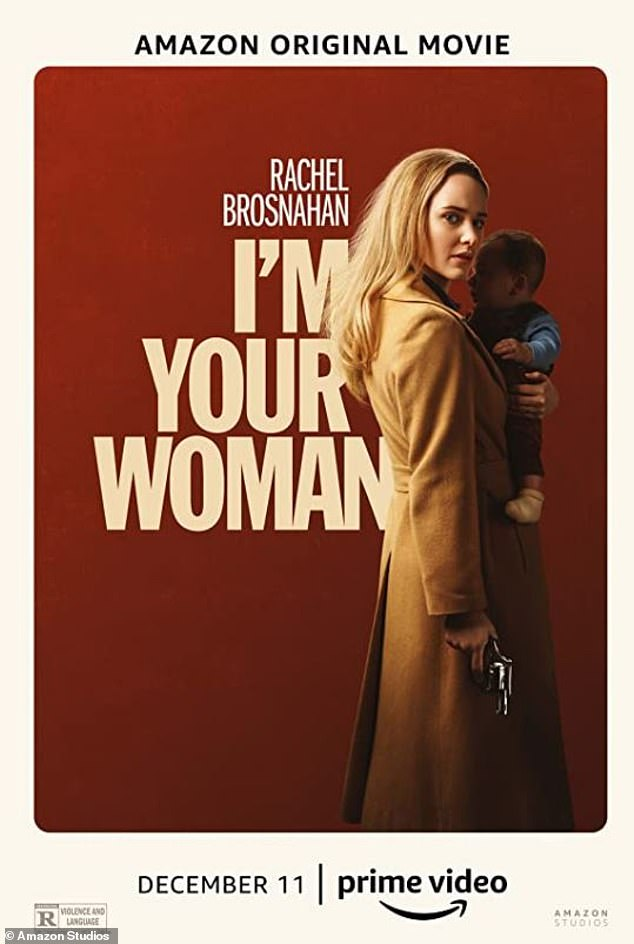 70s drama: The actress is currently promoting her new Amazon Prime movie I'm Your Woman which drops on the streaming platform on December 11