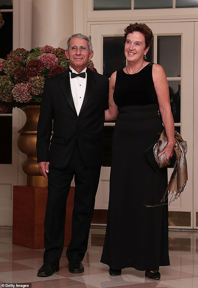 Dr Fauci has been married to fellow physician and HIV / AIDS expert Christine Grady since 1985