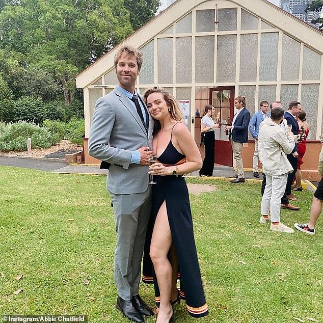 Romance: The Bachelor's Abbie Chatfieldwent Instagram official with her new boyfriend, TV presenter Danny Clayton, on Thursday