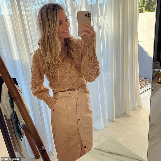 Struggles: Jennifer recently hinted that she struggled to fall pregnant before finally welcoming her beautiful baby girl.Speaking on The Kyle and Jackie O Show, Jennifer admitted: 'I just feel so grateful to be in this moment, because it was not perfect leading up