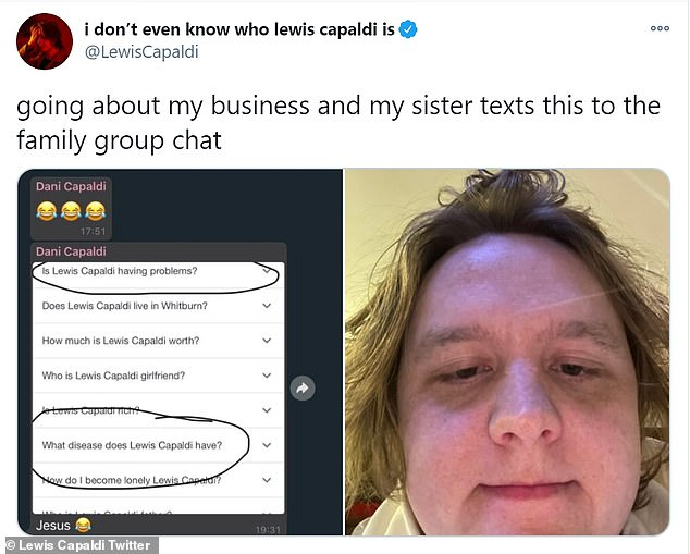 Lewis Capaldi exposes his sister for her cruel (yet hilarious) sibling trolling