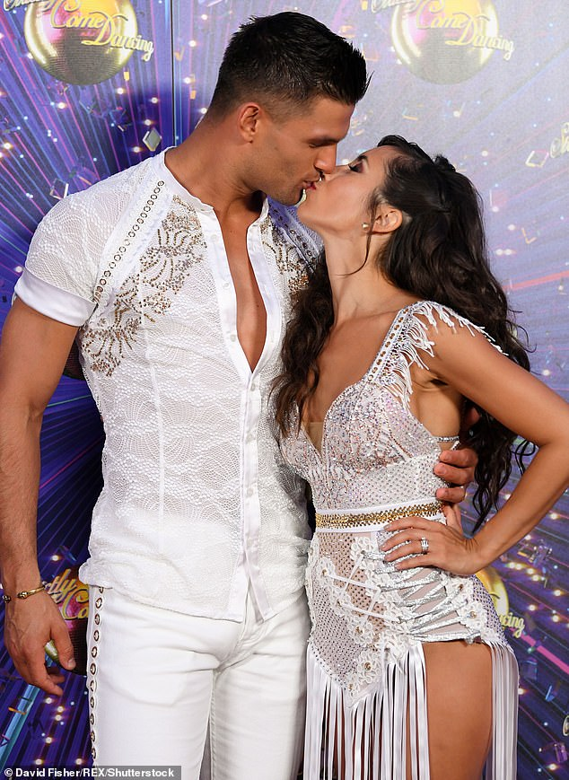 'It's something in our future and in our hearts': Janette revealed that she and Alja had delayed starting a family together over concerns their careers as dancers would be short-lived