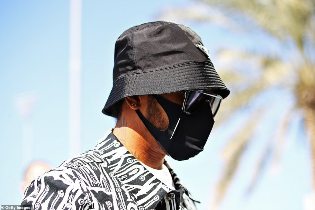 Formula 1 driver Lewis Hamilton is back from his coronavirus lay-off and has taken part in a practice session before his return