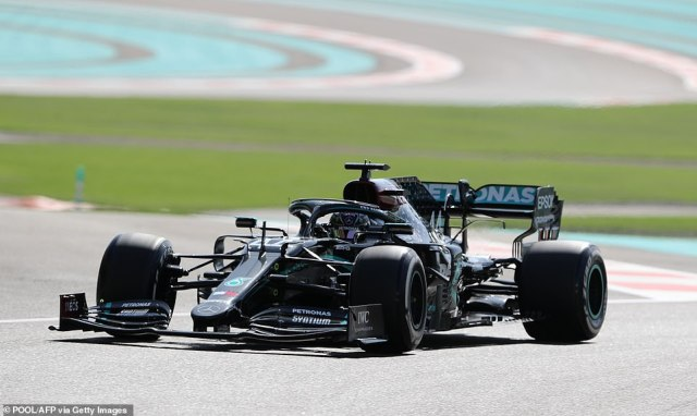 Hamilton took to track in Abu Dhabi and was able to get a feel for his car once more ahead of the final race of the 2020 season