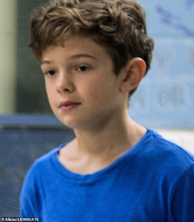 Way back when: Noah is pictured playing Jack Will in Wonder in 2017